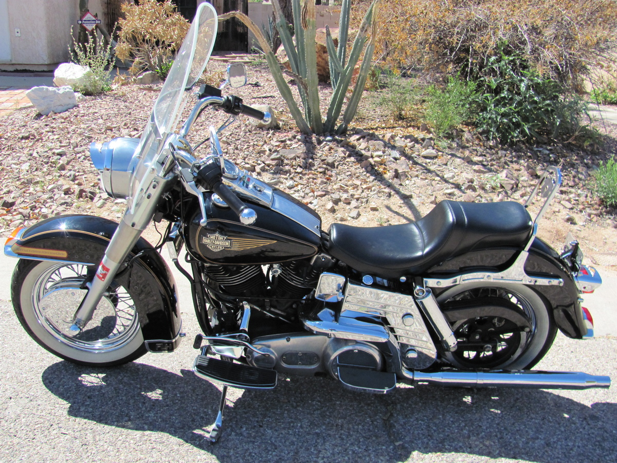 hight resolution of 1984 harley davidson electra glide special edition rare flhx collectors weekly