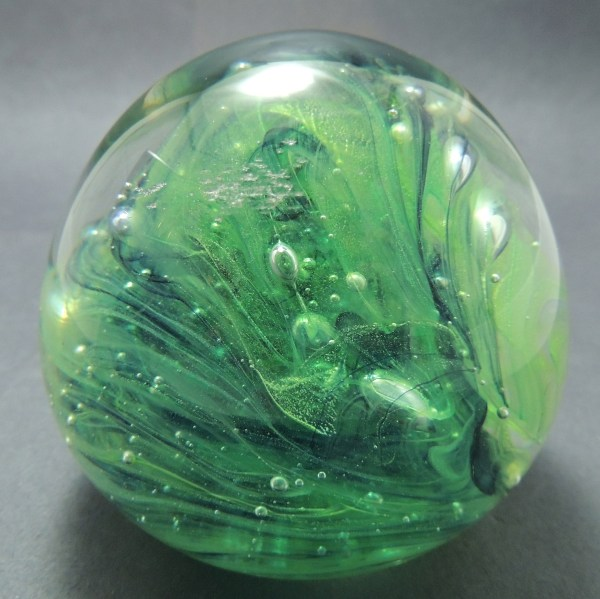 Hand Glass Paperweight Kerry Ireland