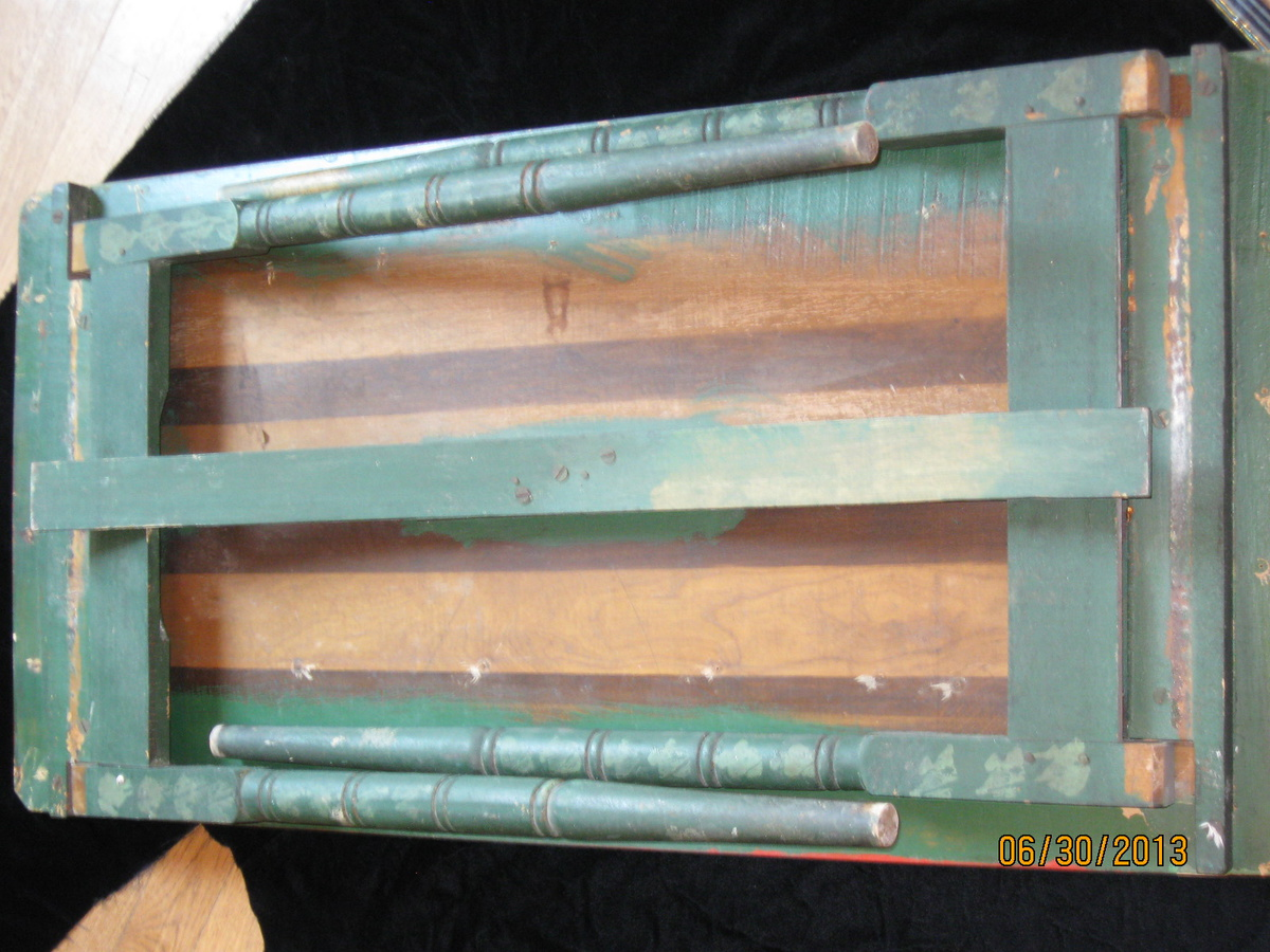 My Grandmother S Antique Folding Table Collectors Weekly