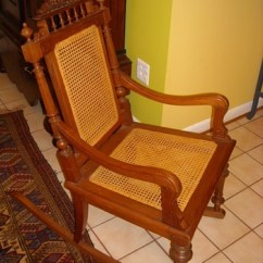 Old Fashioned Rocking Chairs Table And Chair Set Walmart Antique Vintage Collectors Weekly Dutch Colonial Style Pair