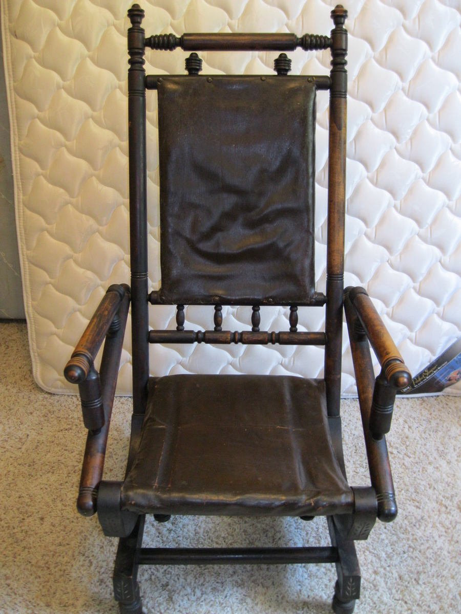 Antique rocking chair from the 1800s  Collectors Weekly