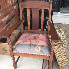 Craftsman Style Chairs Cherner Chair Company Antique Mission Furniture Collectors Weekly Yard Sale Project Piece Arm Question