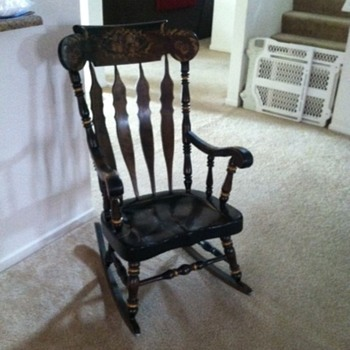 early american chair styles country song rocking antique and vintage chairs collectors weekly nichols stone