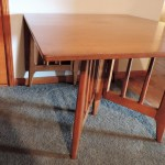 Mid Century Modern Gate Leg Dining Table Collectors Weekly