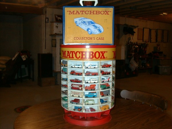 Matchbox Cars With Display Case Collectors Weekly