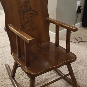 old fashioned rocking chairs face down beach antique and vintage collectors weekly winnie the pooh chair