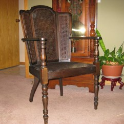 How Do You Cane A Chair American Girl Doll Table And Chairs Wing Back Old Collectors Weekly
