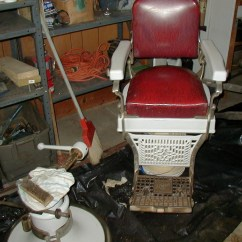 Koken Barber Chair Headrest Ikea Outdoor Chairs 1920 39s 1930 Collectors Weekly