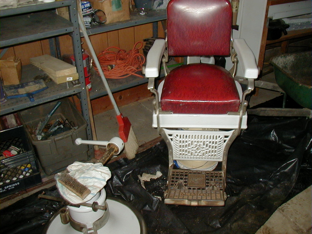 Koken Barber Chairs 1920 S 1930 S Koken Barber Chair Collectors Weekly