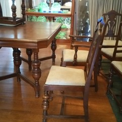 Vintage Wooden Dining Chairs Best Reading Chair Australia Antique And Collectors Weekly Table 6