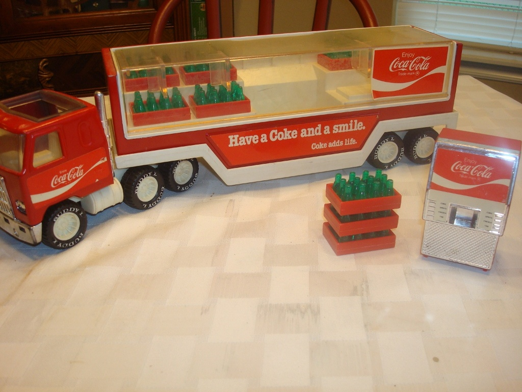 Coca Truck L Buddy Toy Cola