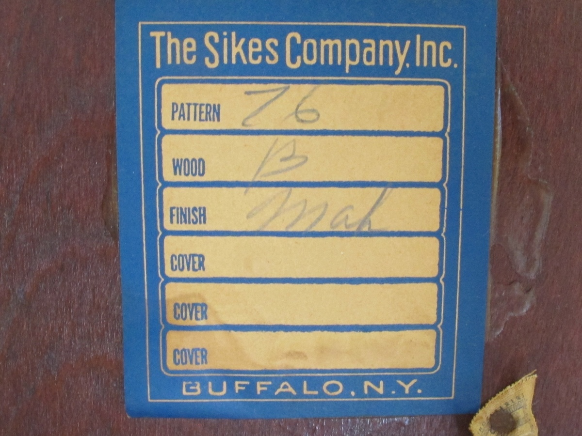 sikes chair company dutch design uk nice not sure of what era collectors weekly