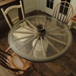 Wagon Wheel Table Before After Collectors Weekly