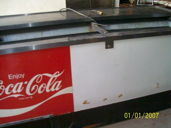 Old Coke Cooler Values - Year of Clean Water