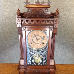 Gilbert Kitchen Clock Best Non Slip Shoes Mid 1800 Mantle Collectors Weekly
