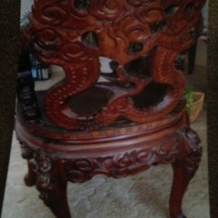 Antique Chinese Dragon Chair Power Chairs Covered By Medicare Among The Clouds Hand Carved Collectors Weekly