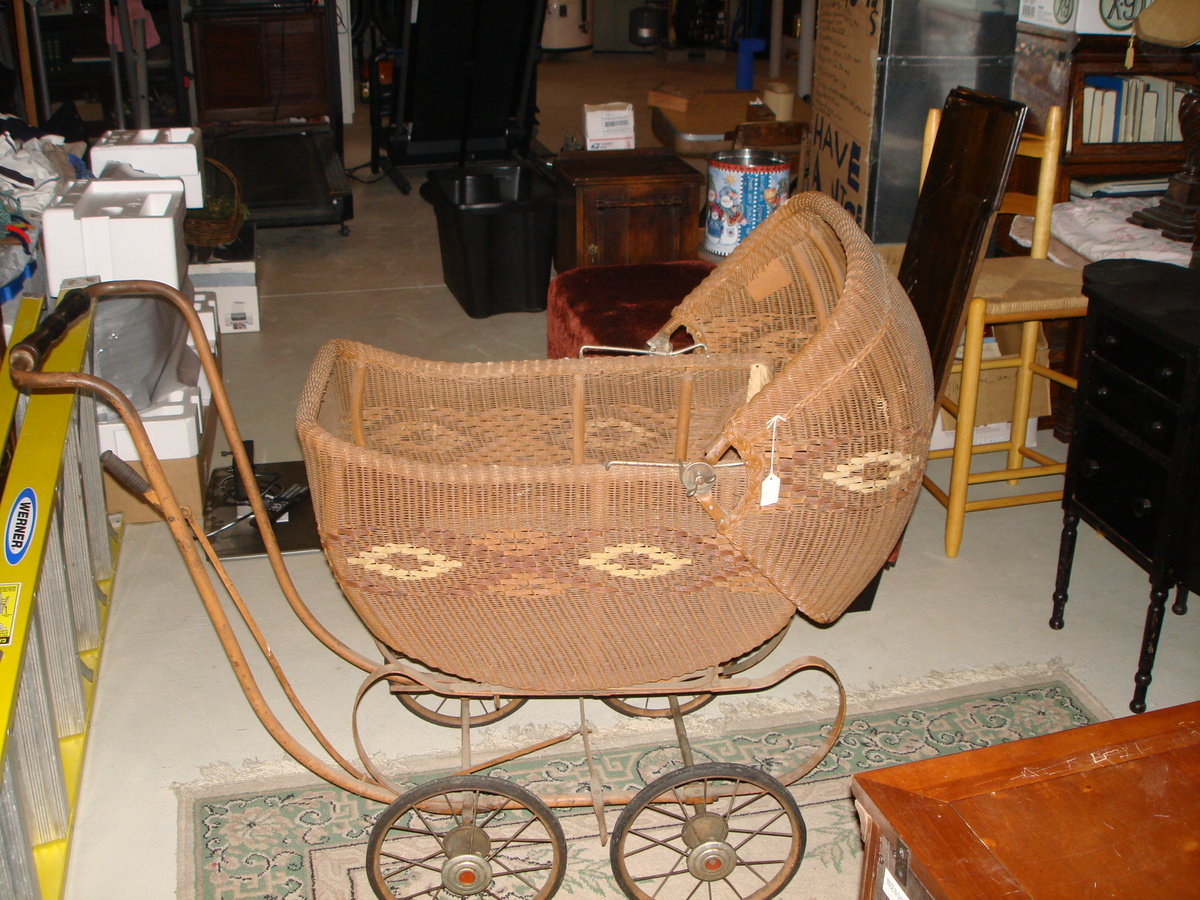 heywood wakefield wicker chairs royal dental chair baby carriage collectors weekly