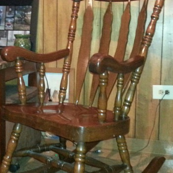 what is a rocking chair lounge covers for sale antique and vintage chairs collectors weekly large solid wood carved