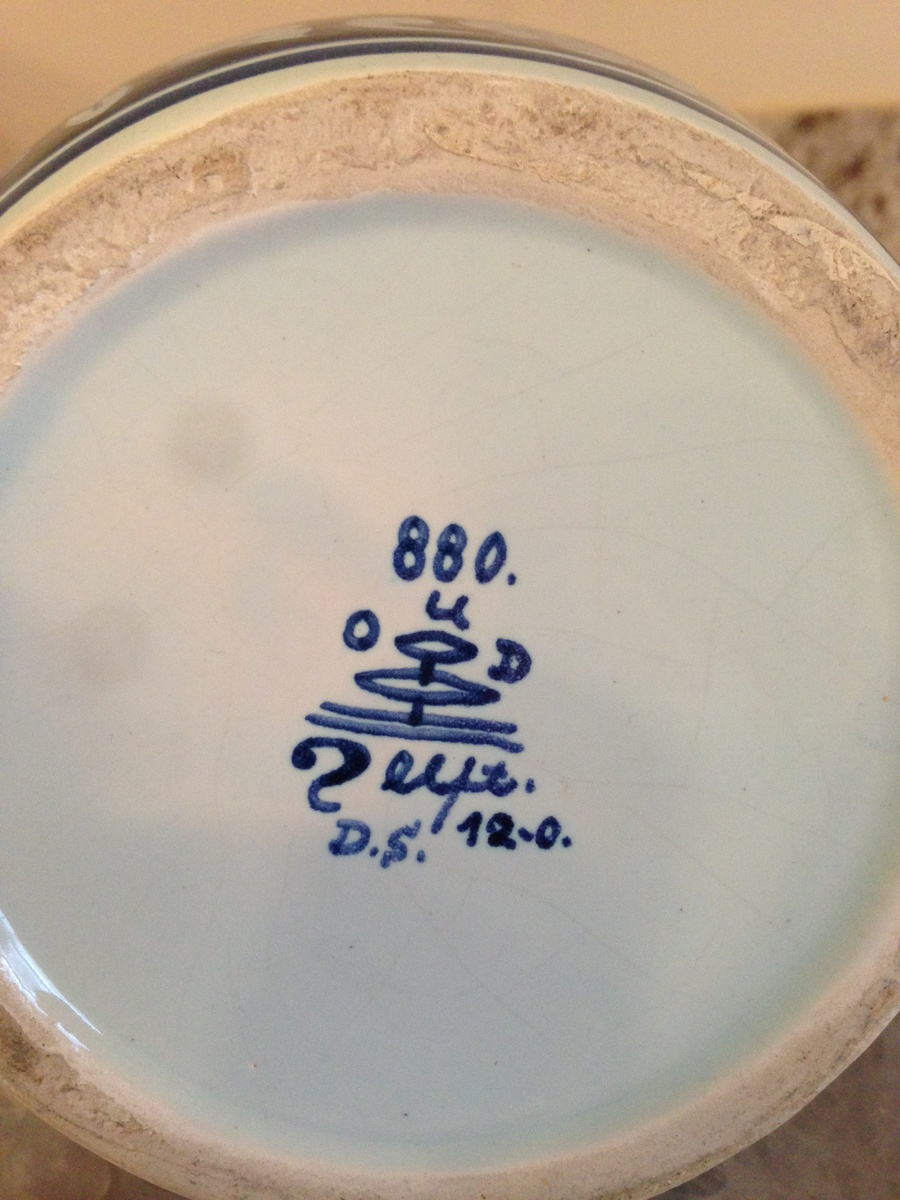 Delft Pottery Porcelain Marks Germany