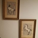 1950s Japanese Horse Prints Urushibara Mokuchu Collectors Weekly