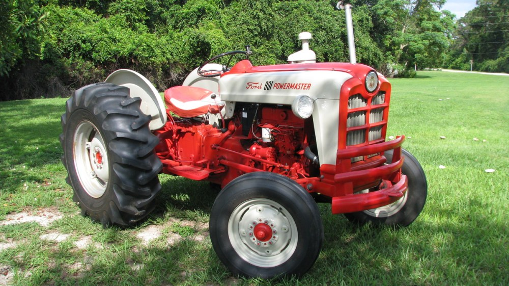 medium resolution of 1958 ford 801 powermaster diesel tractor collectors weeklyford 801 tractor wiring diagram 10