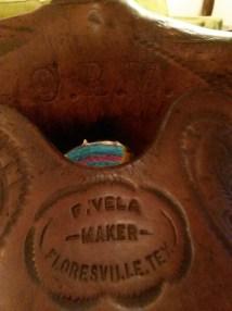Vintage Custom Western Saddle Frank Vela Floresville
