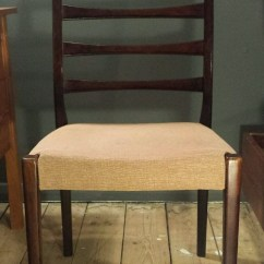 Ladder Back Dining Chairs Red Canada Svegards Markaryd Rosewood Chair | Collectors Weekly
