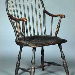 Antique Windsor Chair Identification Leather Club In The Hot Seat Is Your A Fake Collectors Weekly This 18th Century American Bow Back Armchair Sold For Nearly 5 000 At Skinner Auction