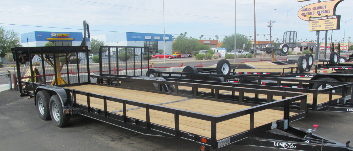 Home  Flatbed Dump Utility and Cargo Trailers in Mesa