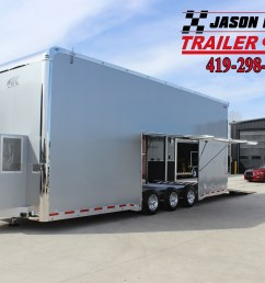 jason dietsch trailers jason dietsch trailer sales in edgerton oh is your flatbed enclosed [ 5184 x 3456 Pixel ]