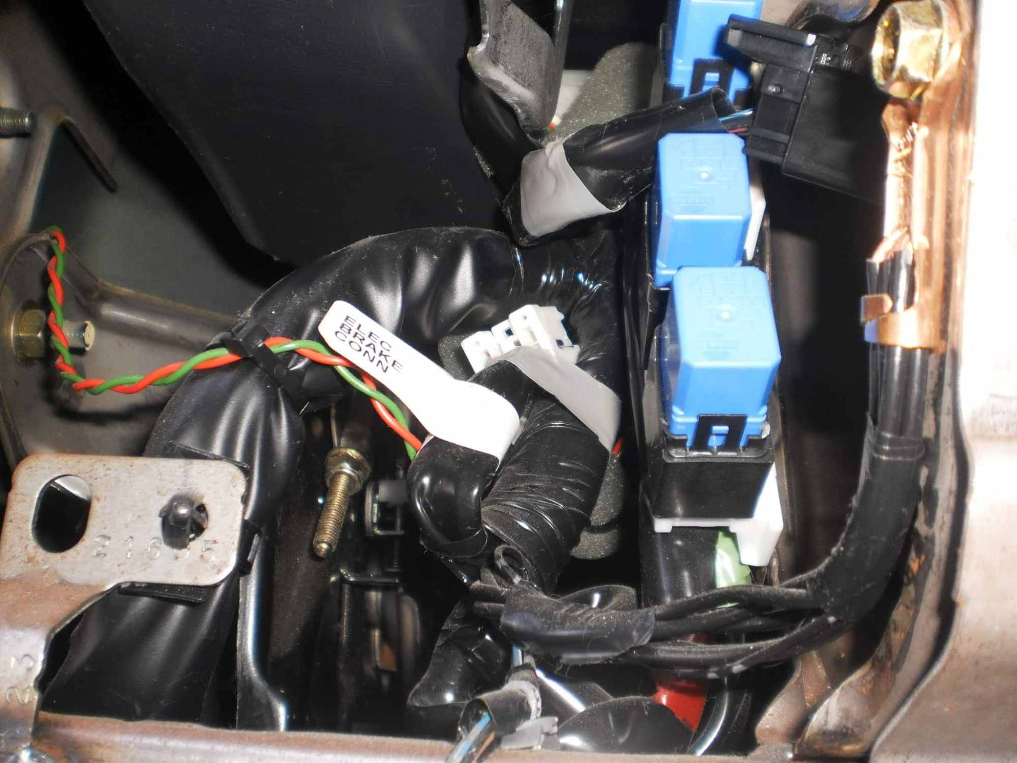 hight resolution of above is a example in a 2005 titan other may be similar installing a brake control unit isn t very difficult this task is made even easier if your tow