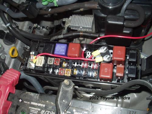 small resolution of 2002 toyota tundra without tow package brake controller installation