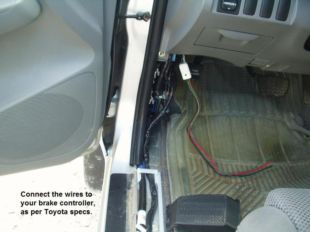 medium resolution of 2005 toyota tacoma brake controller installation r and p carriages2005 toyota tacoma brake controller installation