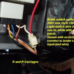 Utility Trailer Brake Wiring Diagram Split Ac In Hindi 2003 Dodge Truck Without Tow Package Controller Installation | R And P Carriages Cargo ...