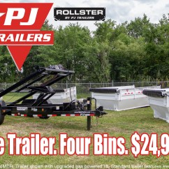 Dump Trailers For Sale Meyer Snow Plow Wiring Diagram Headlights Pj Roll Off Trailer Right New And Used Cargo
