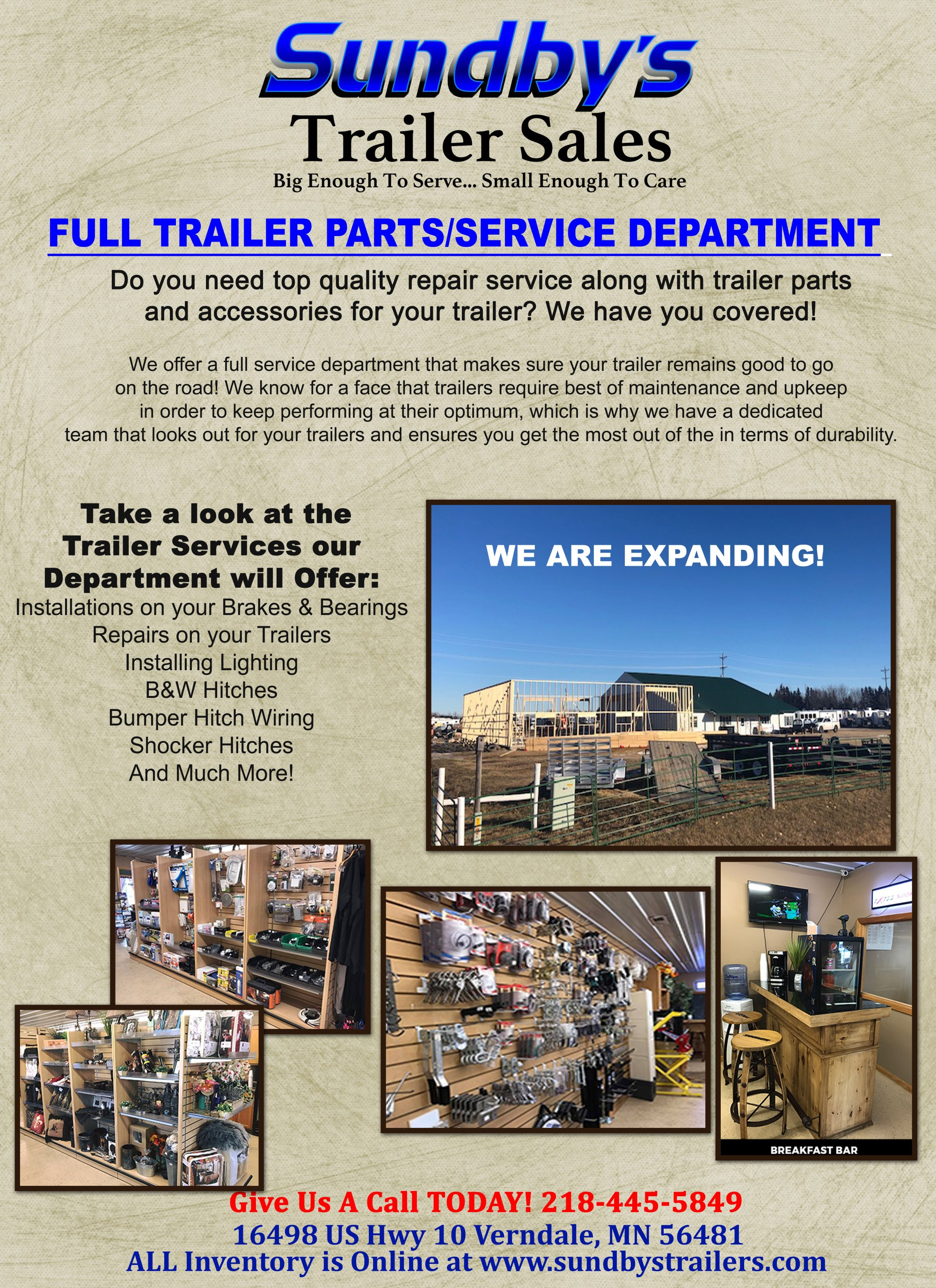 hight resolution of providing not only services sundby s also give customers a vast inventory of trailers part to choose from as well our trailer parts are made from the best