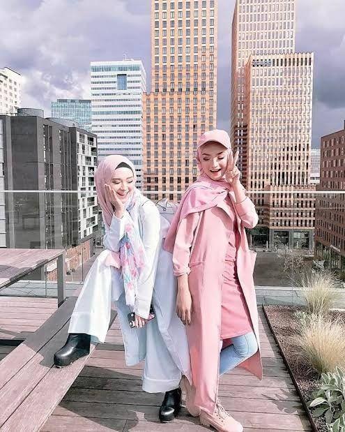 Warna Jilbab Yang Cocok Untuk Baju Pink Salem : warna, jilbab, cocok, untuk, salem, Perpaduan, Warna, Salem, Korea, Stylish,, Termasuk, Untuk, Hijaber, Womantalk