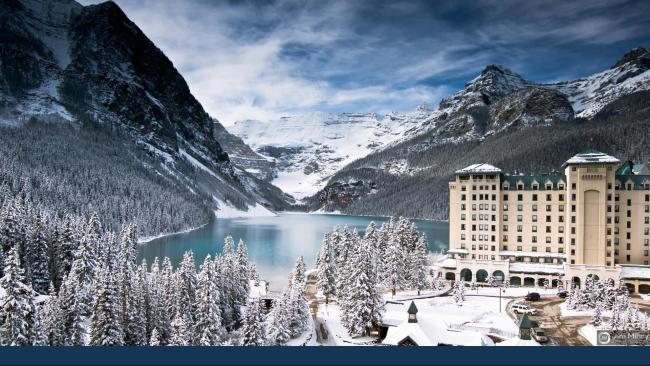 Fairmont Chateau Lake Louise, Banff, Canada