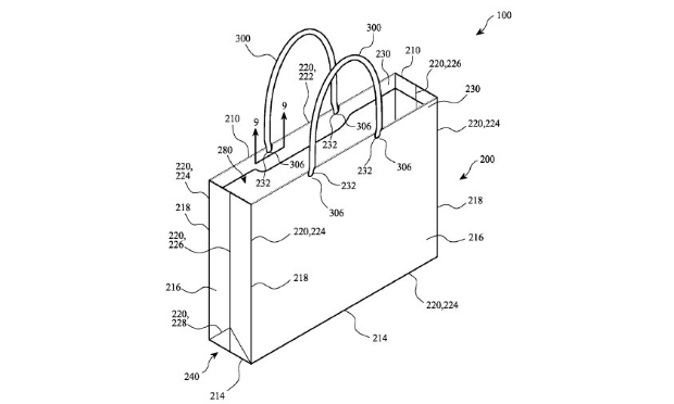 Apple files patent for strong, flexible shopping bag
