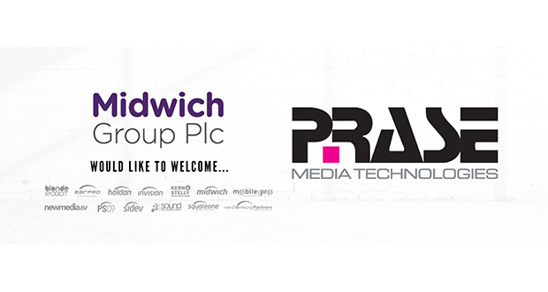 Midwich acquires distributor Prase and expands into Italy