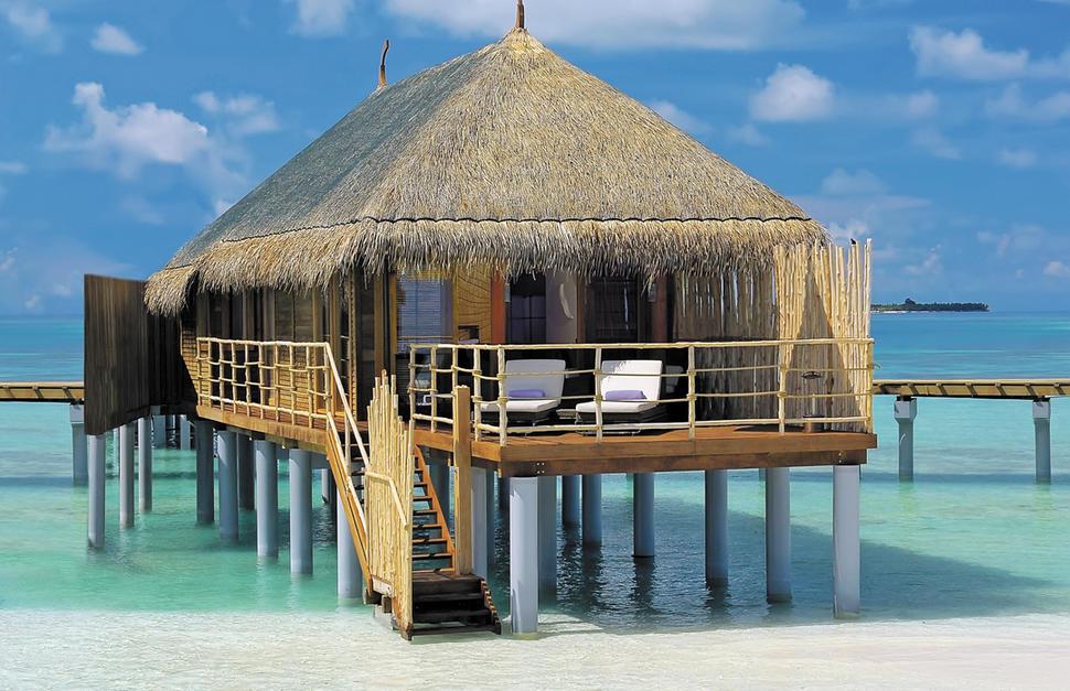 Water Villa in the Maldives