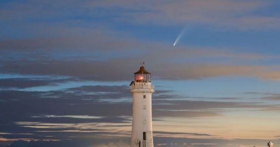 inkl - Liverpool Echo - Comet Neowise spotted over the river ...