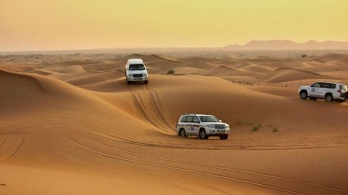 o que fazer em Dubai - safari dubai