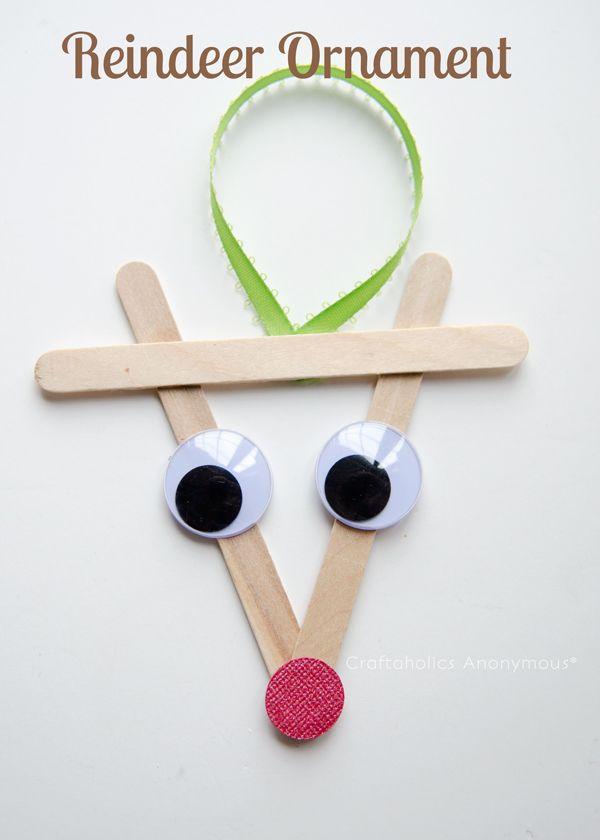 Easy Christmas Ornaments For Preschoolers