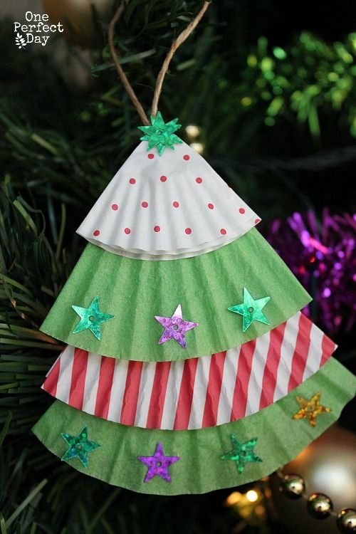 Making Christmas Decorations For Children