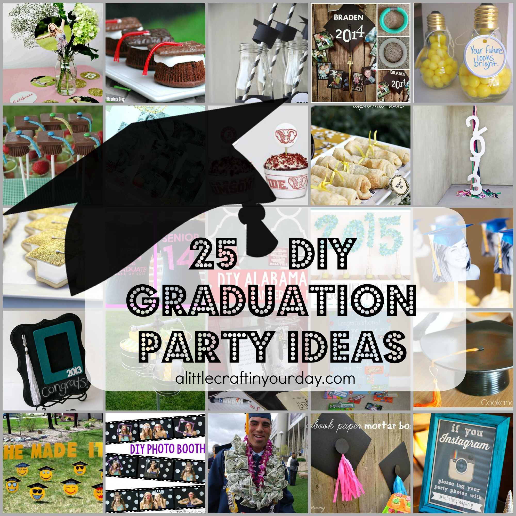 25 diy graduation party