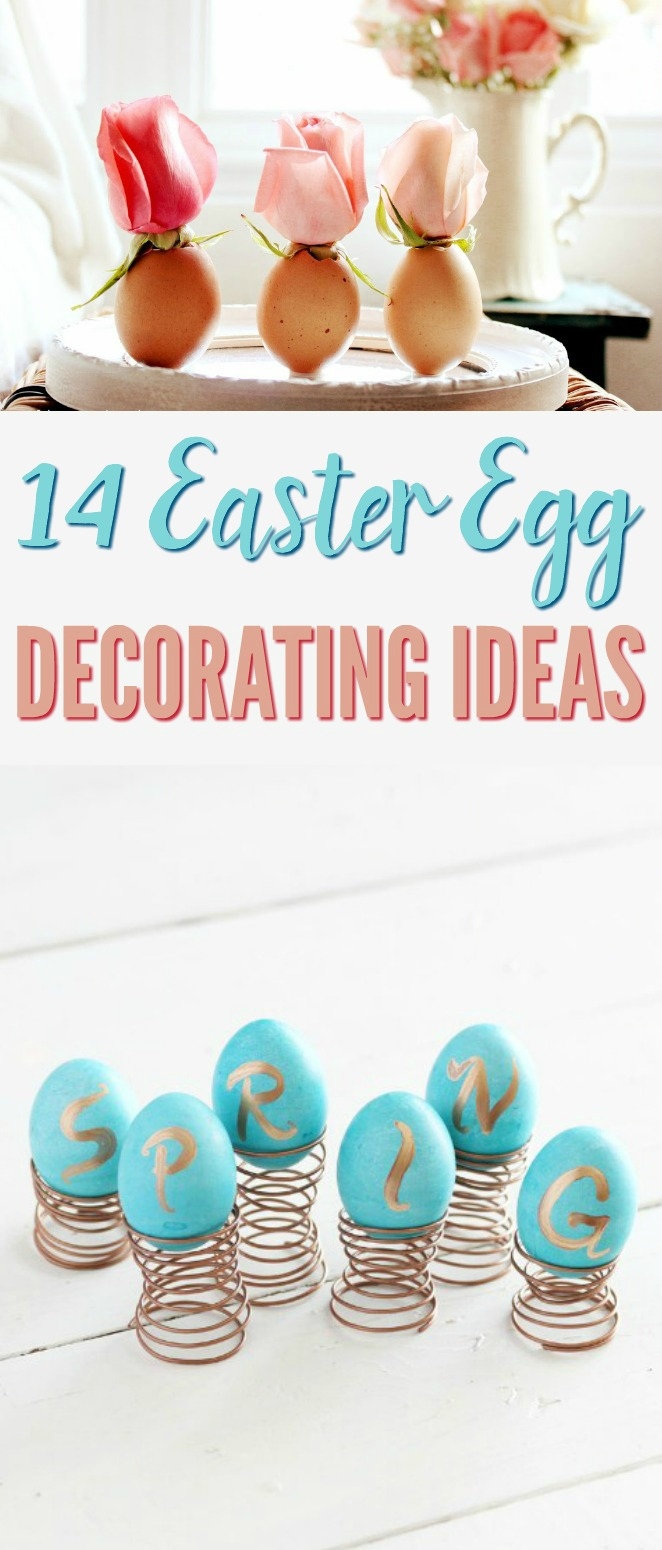 Easter Egg Decorating Ideas A Little Craft In Your Day