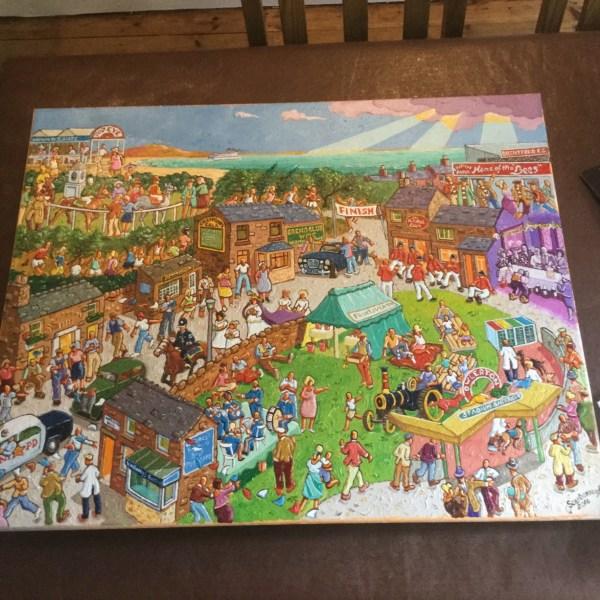 Joe Scarborough Artist - Viewing Latest Painting & Ed. Signed Prints Pancreatic Cancer Uk