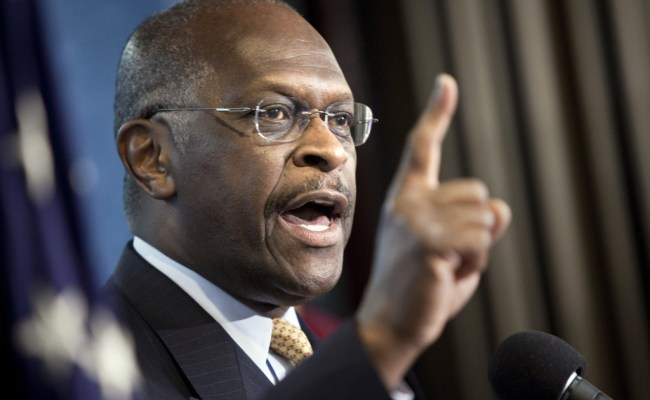 Trump Says Herman Cain Withdraws From Fed Consideration