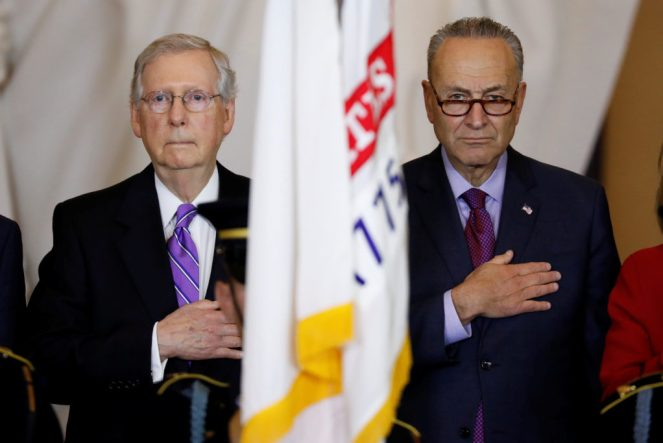 Image result for McConnell and Schumer